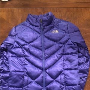 Girls North Face insulated jacket